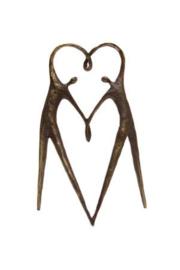 Exclusieve sculptuur met persoonlijk kaartje Het hart op de juiste plaats