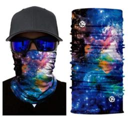 Motor bandana - colsjaal - buff sjaal - motor masker - ski masker - motor gezichtsmasker - ski gezichtsmasker multicolor