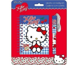 Hello Kitty Stationary Blauw - GRATIS bij een bestelling vanaf 25 euro