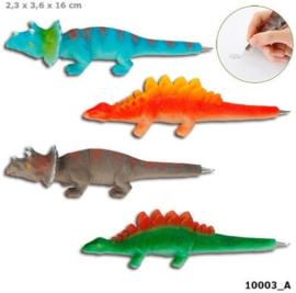 4 stuks Dinosaurus pennen
