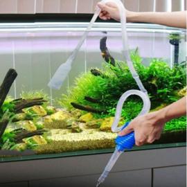 Aquarium schoonmaak slang - pomp