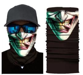 Motor bandana - colsjaal - buff sjaal - motor masker - ski masker - motor gezichtsmasker - ski gezichtsmasker - skull / schedel