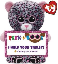 TY Peek A Boo Trixi Leopard Tablet Houder