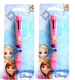 2 stuks Frozen 8-kleuren pen