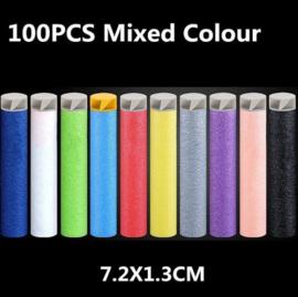 100 stuks darts multicolor voor Nerf Blasters 100 Pijltjes - Darts - Schieten - Foam Bullets - Schuim Kogels