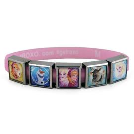 Frozen armband met 5 verwisselbare charms