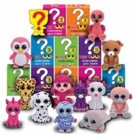 4 stuks Ty Beanie Mini Boo serie 3