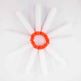 50 stuks darts glow in te dark geschikt voor Nerf blasters
