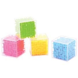 12 stuks doolhof kubus geduldspelletje