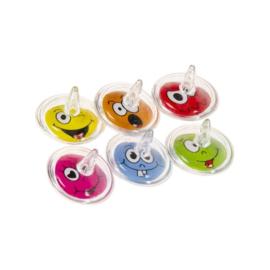 12 stuks tolletjes Emoji Smile Lachgezicht - Uitdeelcadeautje Traktatie Kinderfeestje