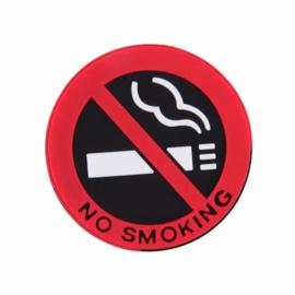 3 stuks No Smoking foam stickers