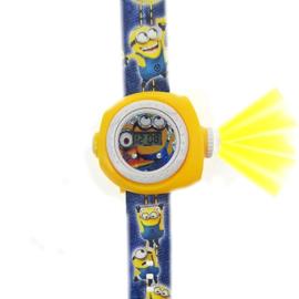 Digitale minions projectie horloge