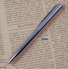 4 stuks mini metalen balpennen