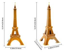 Kartonnen 3D puzzel Eiffeltoren