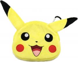 Pokemon Pluche Pikachu Nintendo 3DS tas 20x22cm
