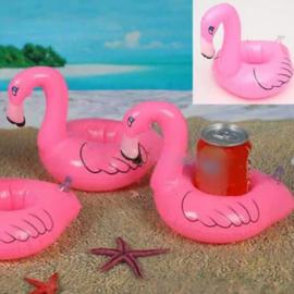 Opblaasbare Flamingo Bekerhouders Set - 2 stuks