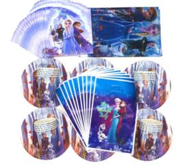 Frozen feestpakket 81-delig - verjaardag