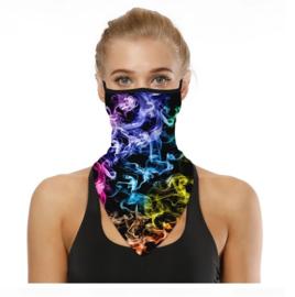 Sjaal - colsjaal - mondmasker - fietsmasker fashion multicolor