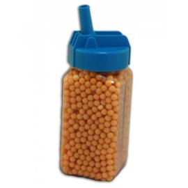 Schietballetjes In fles 1800 stuks geel