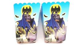 6 stuks popcorn doosjes Batman