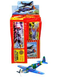 6 stuks bouwpakketjes foamvliegtuig