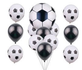 13 stuks voetbal balonnen