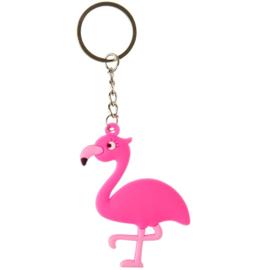 12 stuks flamingo sleutelhanger