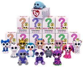 4 stuks Ty Beanie Mini Boo serie 2