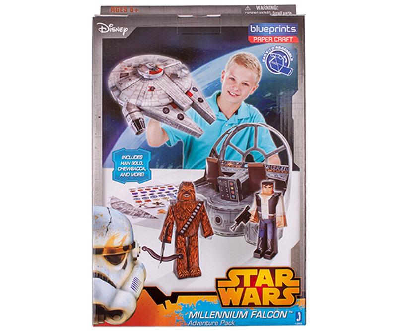 Star Wars Paper Craft Millennium Falcon Set