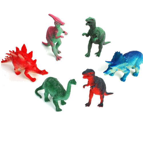 24 stuks dinosaurussen 9-11 cm