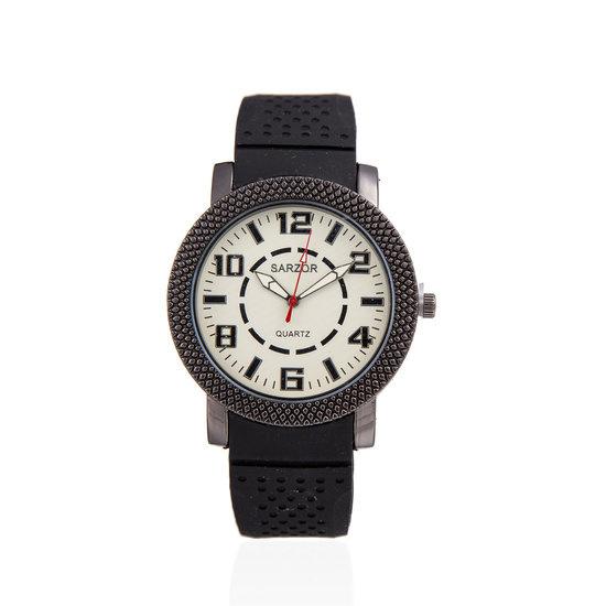 Exclusieve horloge met grote wijzerplaat