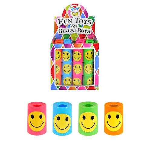 8 stuks grabbelton kaleidoscoop Smiley