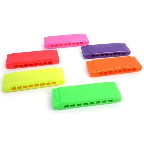 12 stuks mini mond harmonica / uitdeelcadeautjes