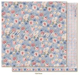 1026 Scrappapier dubbelzijdig - Denim en Girls - Maja Design