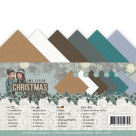 AD-A5-10016 A5 karton - Christmas Wishes - Amy Design