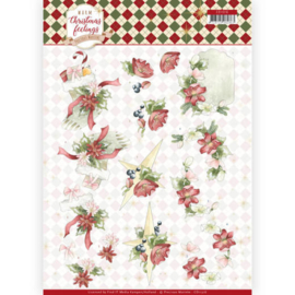 CD11316 3D vel A4 - Warm Christmas Feelings - Marieke Design