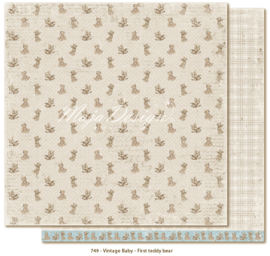 749 Scrappapier dubbelzijdig - Vintage Baby - Maja Design
