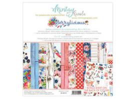 Paperpad 30.5x30.5cm - Berry Licious - Mintay  * PAKKETPOST *