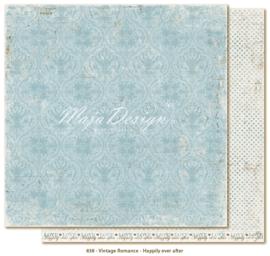 838 Scrappapier dubbelzijdig - Vintage Romance - Maja Design