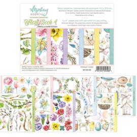 Paperpad Mintay - Flora Book 4 - 15.2 x 20.3 cm - MT-FLO-04
