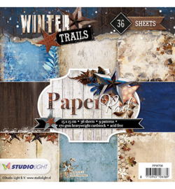 PPWT98 Paperpad - Winter Trails - Studio Light