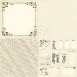PD5203 Scrappapier Dubbelzijdig - Days of Winter - Pion Design