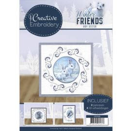 CB10008 Creative Embrodery  - Winter Friends - Amy Design