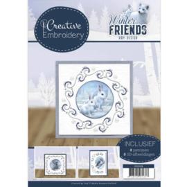 CB10008 Creative Embrodery  - Winter Friends - Amy Design
