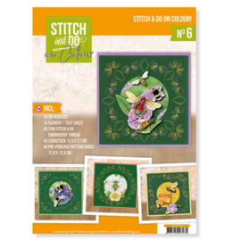 STDOOC10006 Stitch and Do on Colour set 6 - Humming Bees
