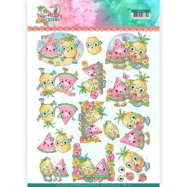 CD11332 3D vel  - Happy Tropical - Yvonne Creations