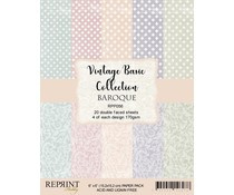RPP056  Paperpad Reprint 6x6 Inch - Damask