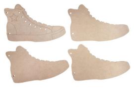 6320-0018 MDF boekje Sneaker - Joy Crafts
