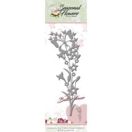 PM10087 Snij- en embosmal - Seasonal Flowers - Marieke Design