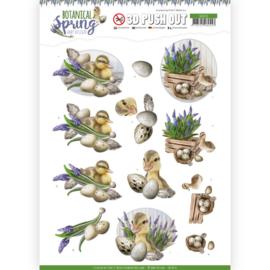 SB10434 Stansvel 3D vel A4 - Botanical Spring - Amy Design
